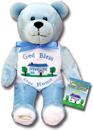 God Bless Our Home Holy Bear