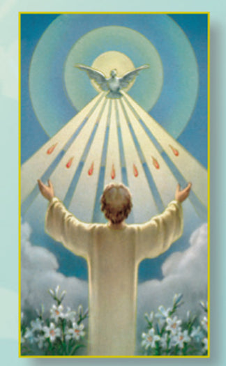 Holy Spirit (Confimation) Card - 100-Pack