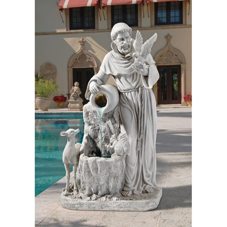 Saint Francis Natures Life Giver Fountain