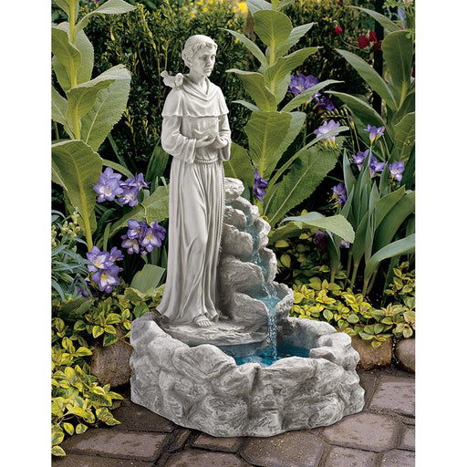 Natures Blessed Saint Francis Fountain