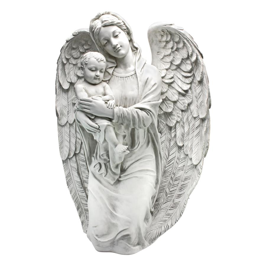 Kneeling Angel With Baby