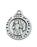 Sterling Silver Sml Saint Joan Arc 18-inch Chain