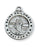 Sterling Silver Medal of Saint Philomena with 18-inch Chain
