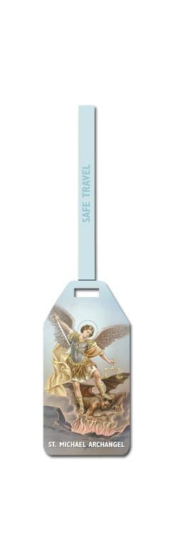 Saint Michael Luggage Tag 3-Pack