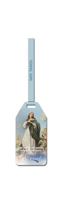 Our Lady Of The Airway Luggage Tag S 3-Pack