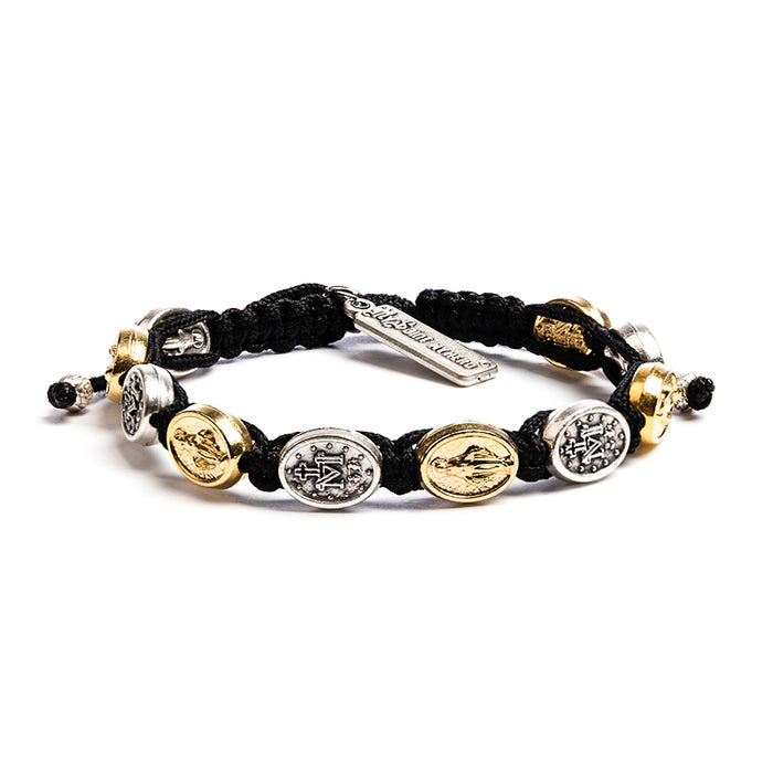 "Miraculous Mary Blessing Bracelet Ã"""" Mixed Medals"