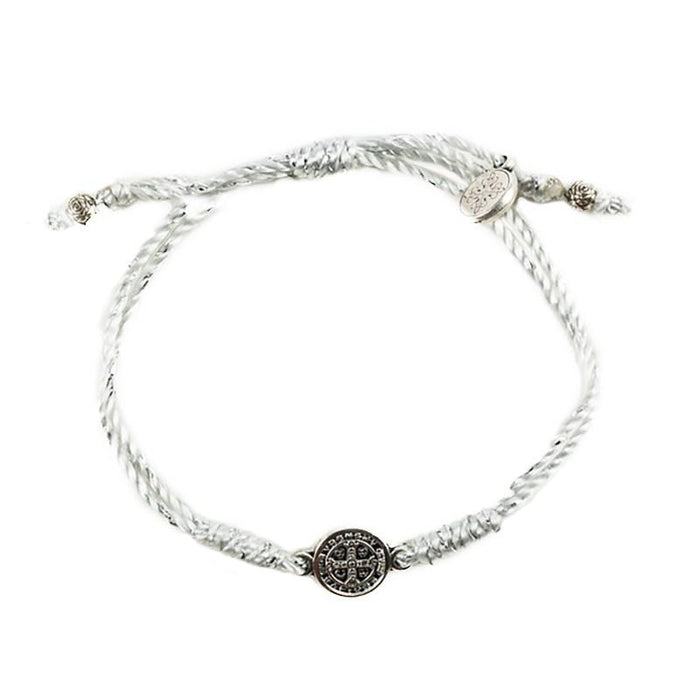 Breathe Blessing Bracelet Silver - Silver Metal