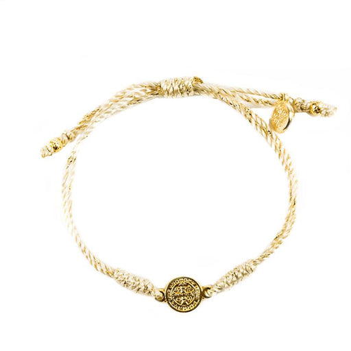 Breathe Blessing Bracelet Gold - Gold Metal