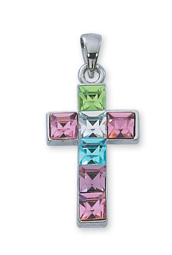 Multi Color Cross Boxed