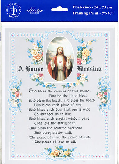 House Blessing 8X10 Print 3-Pack