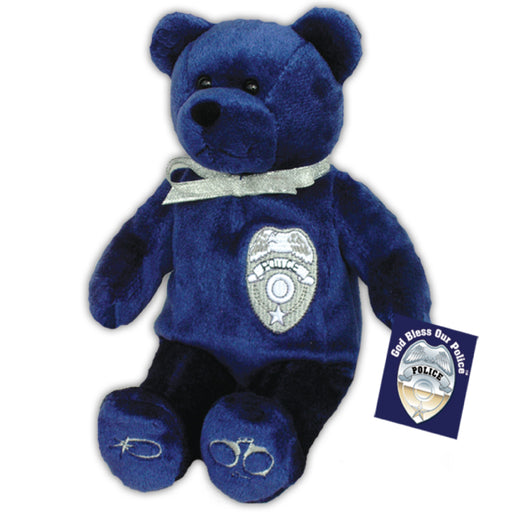 Bus Driver Gift Set with Plush Teddy Bear with Guardian Angel Protect Us Visor Clip