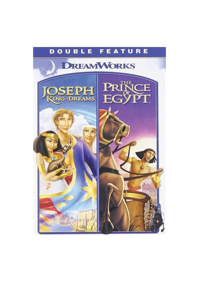 Prince of Egypt and Joseph King of Dreams Combo DVD