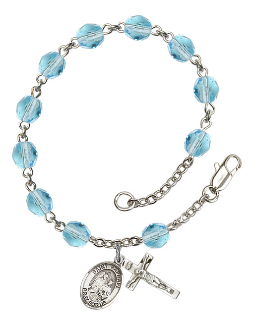 St. Raphael the Archangel Rosary Bracelet