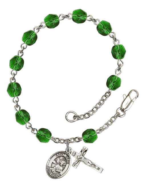 St. Mark the Evangelist Rosary Bracelet