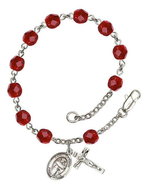 St. Casimir of Poland Rosary Bracelet