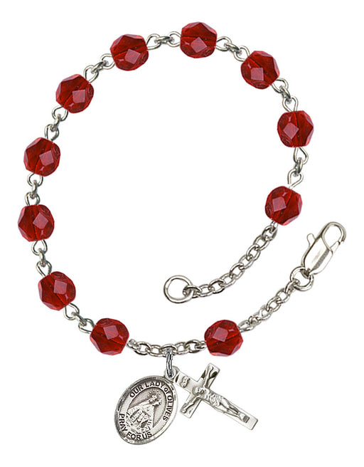 Our Lady of Olives Rosary Bracelet