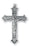2-inch Sterling Silver Crucifix with 24-inch Chain