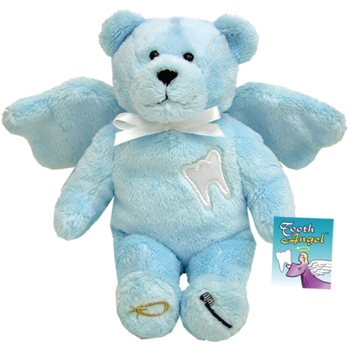 Blue Tooth Angel Holy Bear