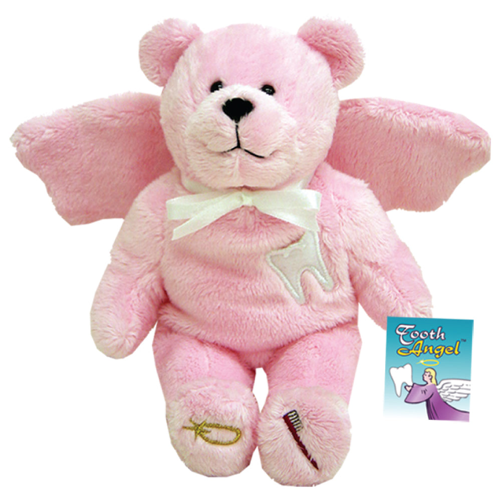 Pink Tooth Angel Holy Bear