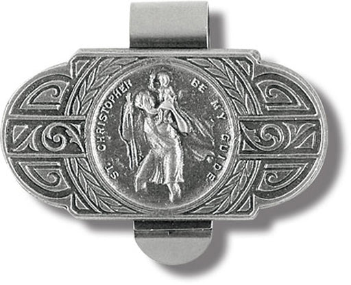 St Christopher Be Mt Guide Visor Clip 3-Pack