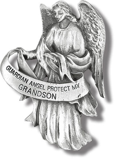 Guardian Angel Visor Clip Protect My Grandson 3-Pack