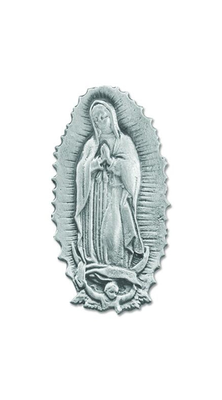 Our Lady Of Guadalupe Medal Visor Clip 3-Pack
