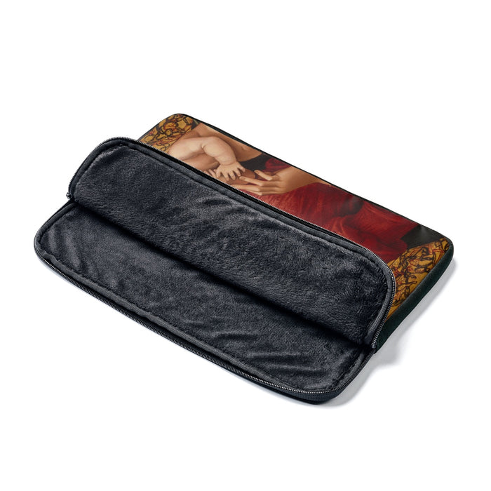 Mary and Baby Jesus Laptop Sleeve