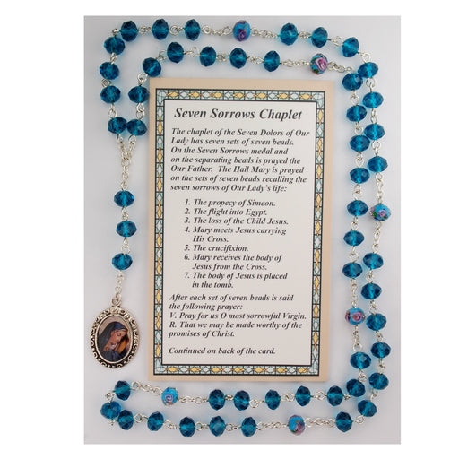 Our Lady of Sorrows Chaplet w/Card