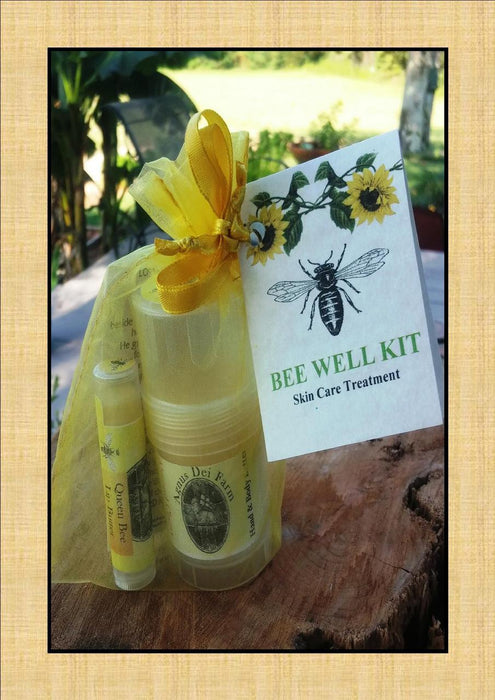 Bee Well Hand and Lip Butter Kit Small