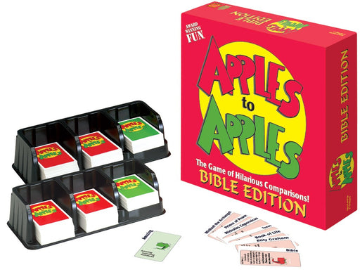 Apples to Apples: Bible Ed.