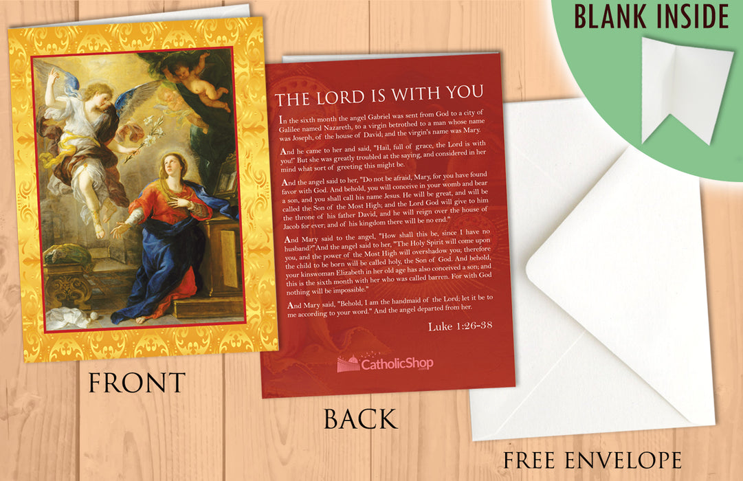 The Annunciation Christmas Card - 25-Pack