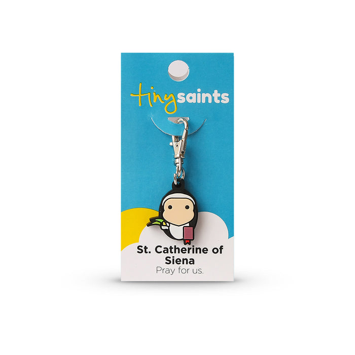 Saint Catherine of Siena Tiny Saint Charm
