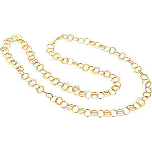 38-inch Link Chain - 14K Yellow Gold