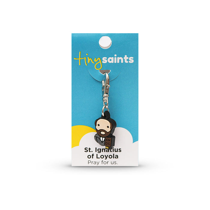 Saint Ignatius of Loyola Tiny Saint Charm
