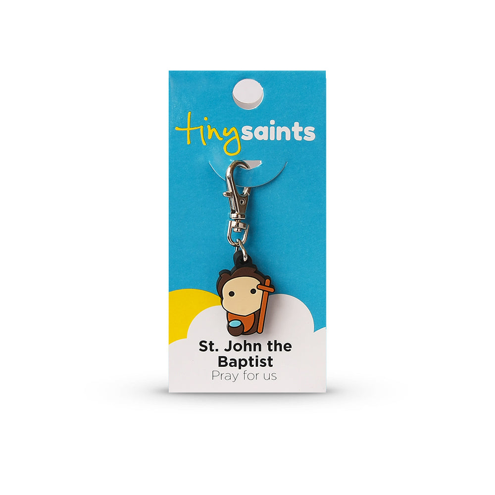 Saint John the Baptist Tiny Saint Charm