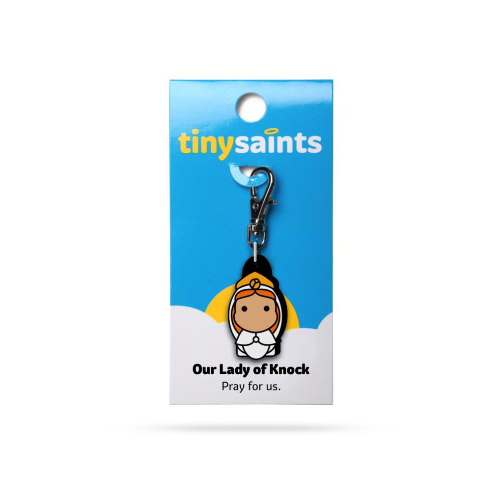 Our Lady of Knock Tiny Saints Charm