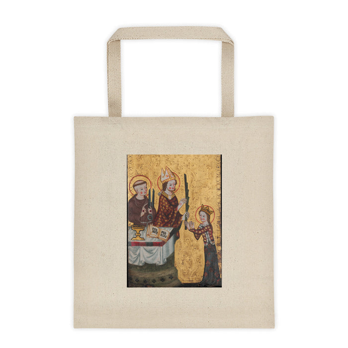 Saint Francis and Clare Tote bag