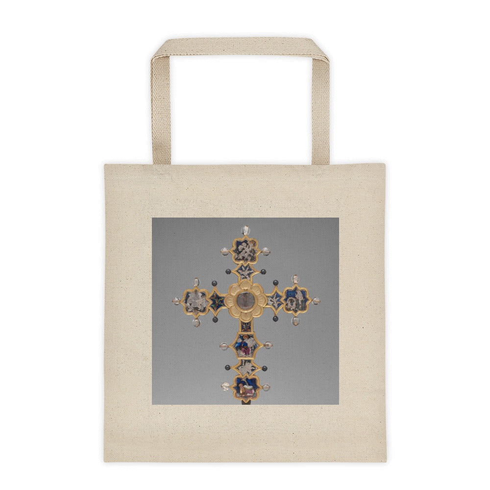 Reliquary Cross Tote bag