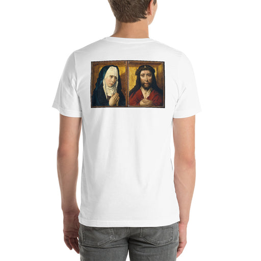 The Mourning Virgin and Man of Sorrows Unisex T-Shirt