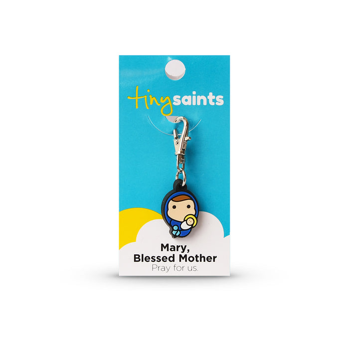 Mary the Blessed Mother Tiny Saint Charm
