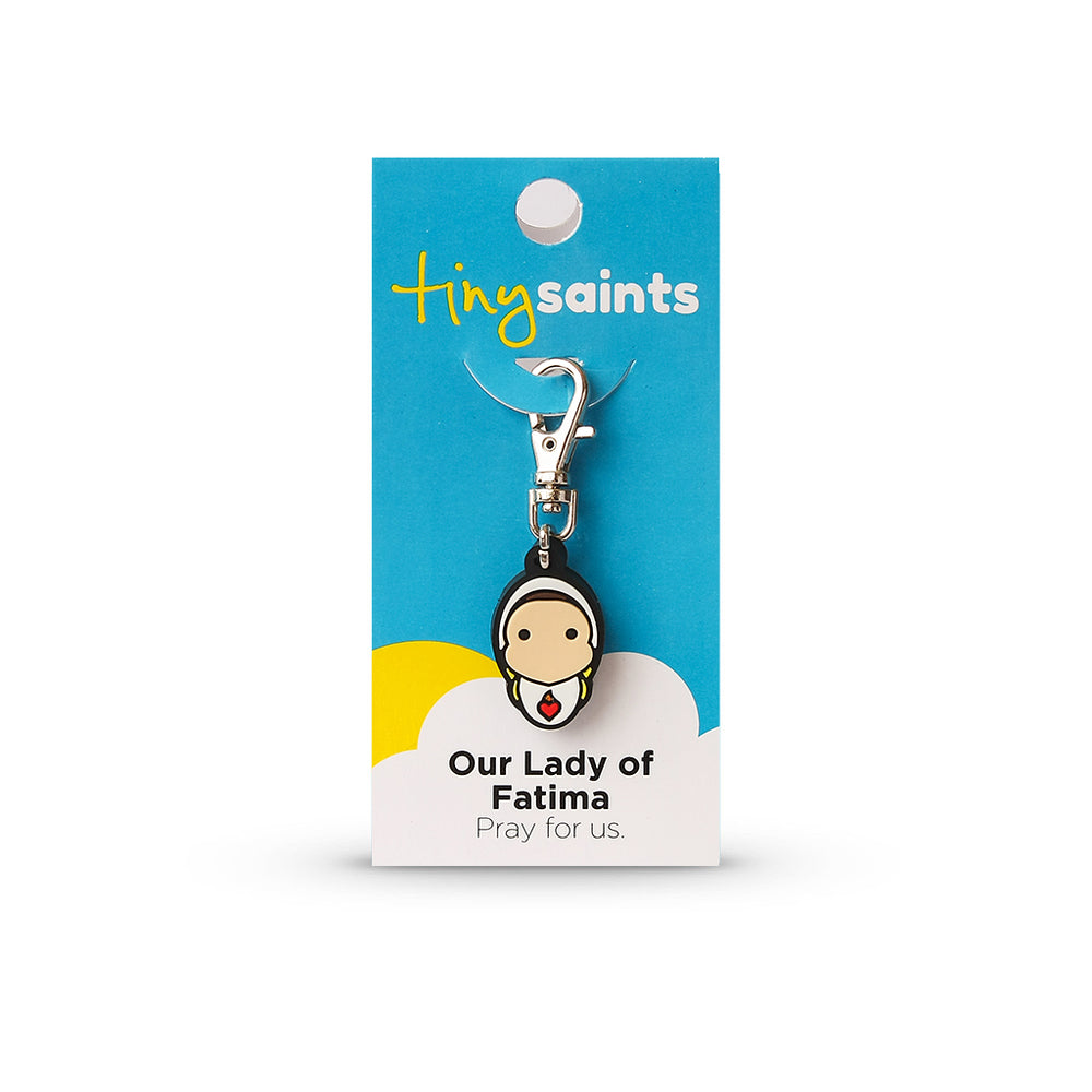 Our Lady of Fatima Tiny Saint Charm