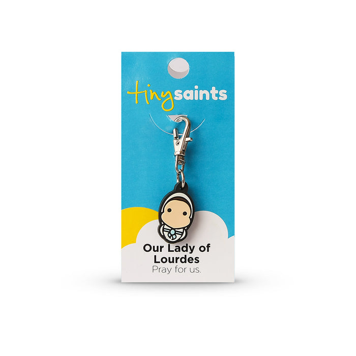 Our Lady of Lourdes Tiny Saint Charm