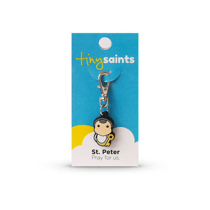 Saint Peter Tiny Saint Charm