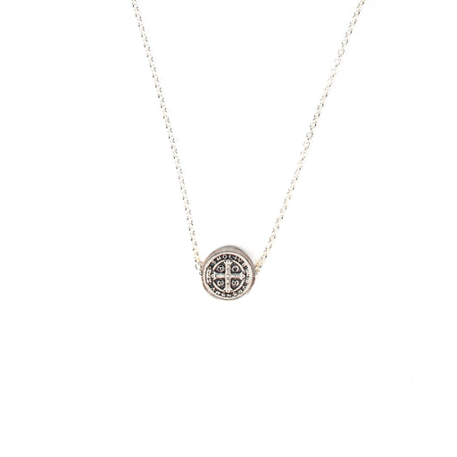 Benedictine Petite Necklace Silver