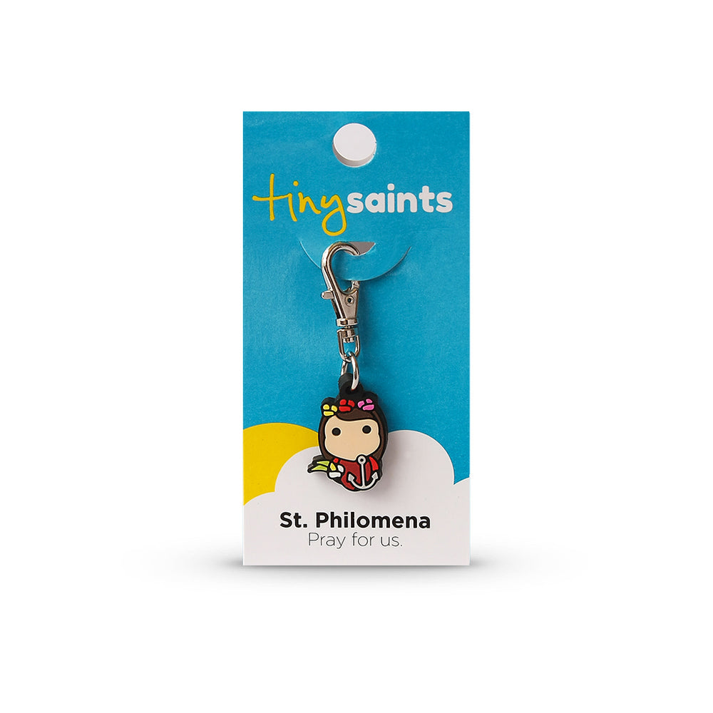 Saint Philomena Tiny Saint Charm