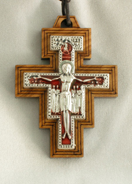 San Damian Cross Necklace 32-inch