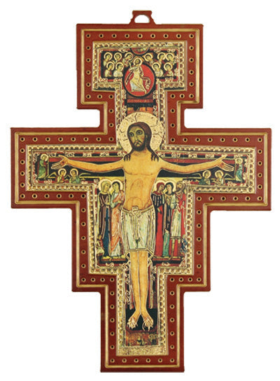 San Damiano Cross 11-inch