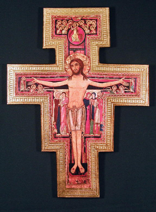 San Damiano Crucifix - 3-inches