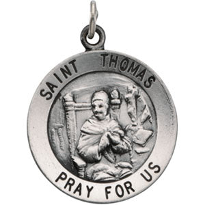 14K Yellow Gold Saint Thomas Pendant