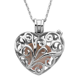 Sterling Silver Always In My Heart Locket